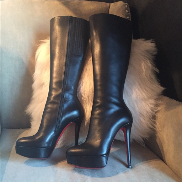 louboutin boots bianca